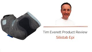 The Bad Back Companies review of the Silistab Epi Elbow Support.