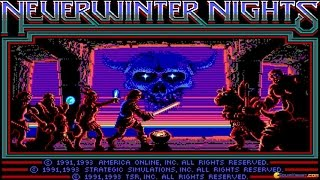 Neverwinter Nights gameplay (PC Game, 1991)