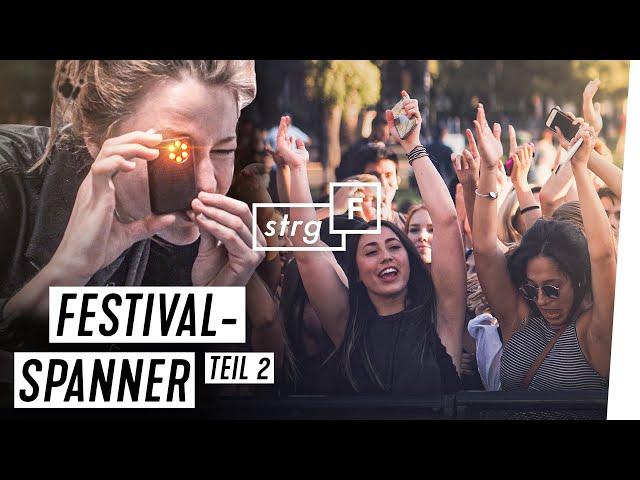 Spanner auf Festivals: Neue Fälle auf Hurricane, Deichbrand & Co. | STRG_F
