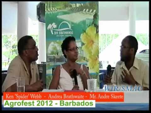 Agrofest 2012w Mr. Andre Skeete  -  Barbados Information Services.flv