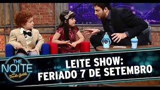 """The Noite (04/09/14) - Leite Show: """"Feriado"""""""