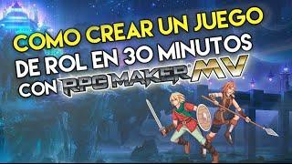 Tutorial Español | Como usar rpg maker mv (fácil)