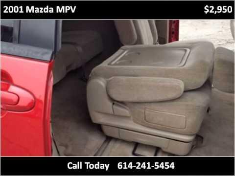 2001 Mazda MPV Used Cars Columbus OH