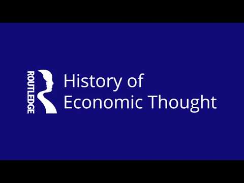 Take a tour of the Routledge History of Economic Thought