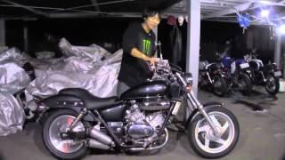 マグナ250 V-twin Magna ガンメタ 参考動画