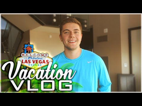VACATION VLOG! (Crazy Las Vegas Suite, Dolphins and MY FAMILY!)