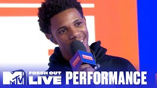 A Boogie Wit Da Hoodie Performs 'King Of My City' LIVE! | #MTVFreshOut