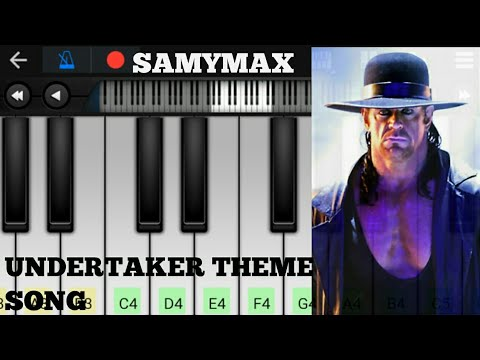 WWE Undertaker Theme Song On Perfect Piano