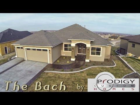 Modified Bach Floorplan by Prodigy Custom Homes | Bob Moon