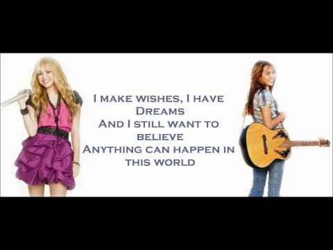 Hannah Montana/Miley Cyrus - Ordinary Girl lyrics