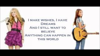 Hannah Montana/Miley Cyrus - Ordinary Girl lyrics