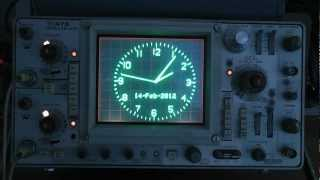 Repeat youtube video Tektronix Clock