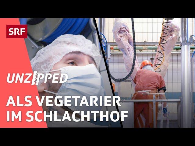 Vom Lebewesen zur Wurst – Ist Fleischkonsum mit Tierwohl zu vereinbaren?   Unzipped   SRF Impact