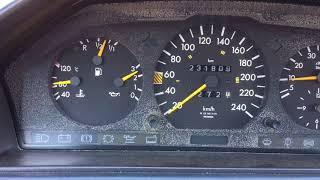 Mercedes 200E m111 şehirler arası yakıt tüketimi