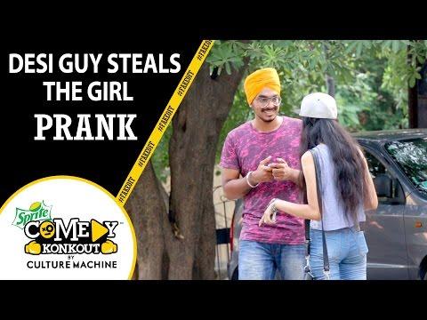 Desi Guy Steals The Girl Prank #fakeoff #SpriteComedyKonkout