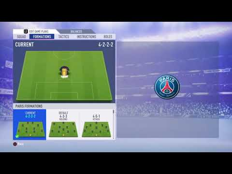 FIFA 19 PSG REVIEW 2.0 - Best Formation, Best Tactics And Instructions
