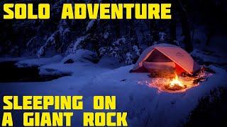 Solo Winter Camping Iฑ The Snow