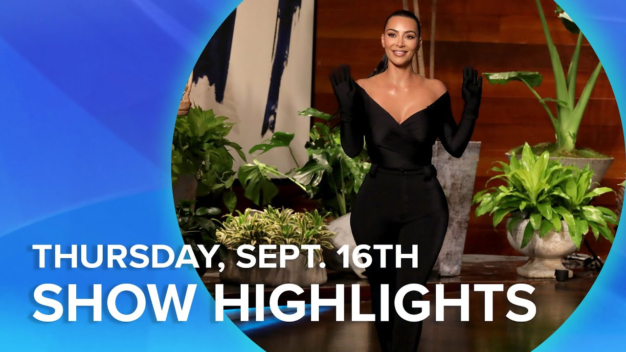 Kim Kardashian West and More! | Highlights From Thursday, September 16th
