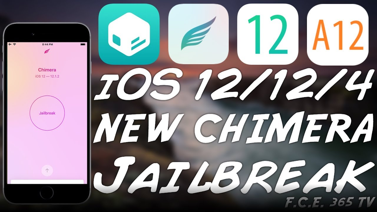 NEW Chimera JAILBREAK Released (A12 Nonce Support on iOS