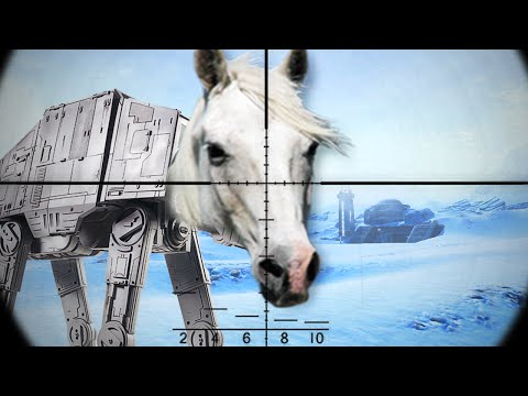 KILL THE UGLY HORSE!! (Star Wars: Battlefront) |