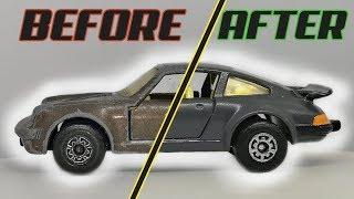 Matchbox Series No 3 Porsche 911 Turbo - Restoration Video