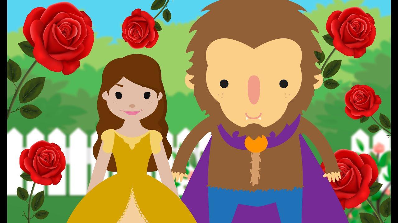 Cuento de La bella y la bestia – Cuentos infantiles cortos