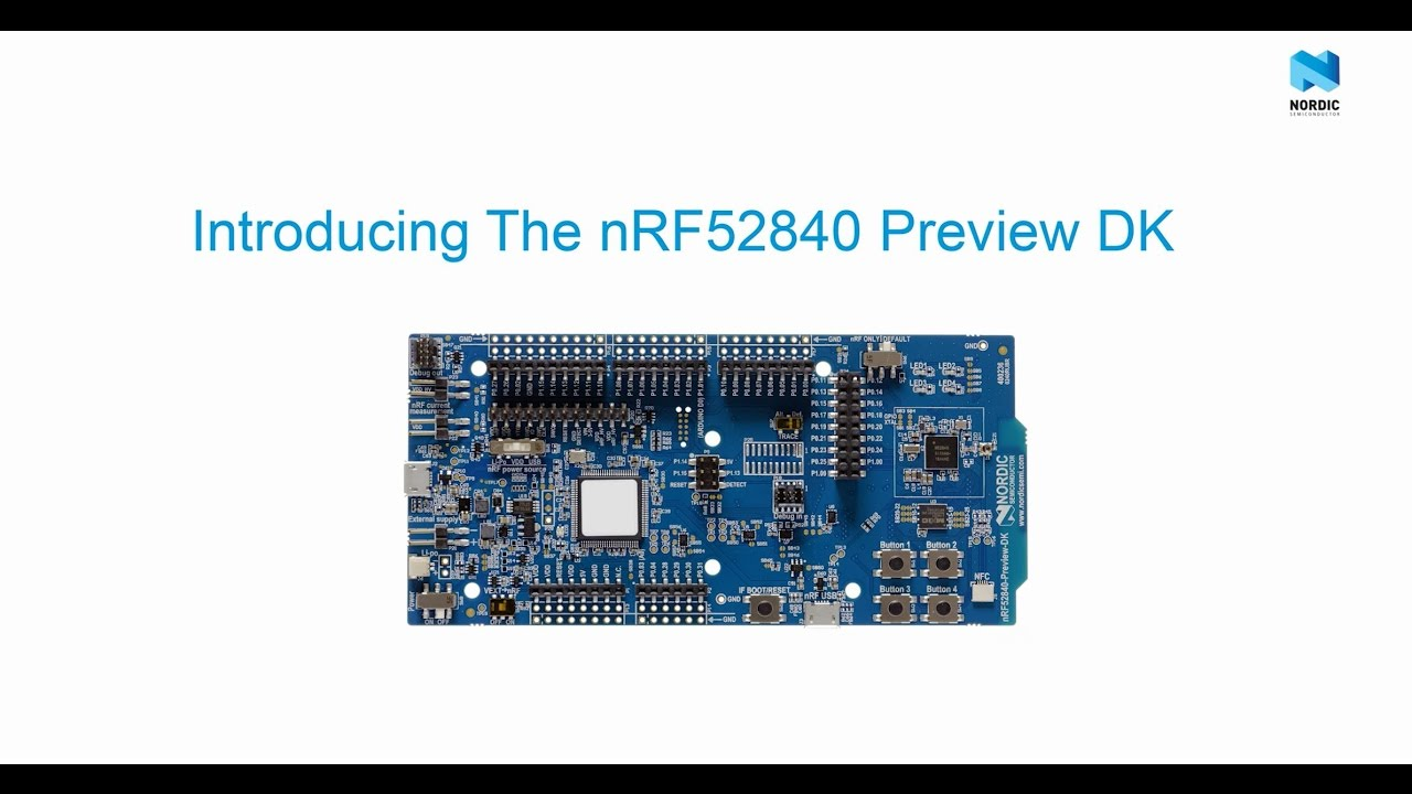 Nordic Semiconductor – nRF52840 Preview DK