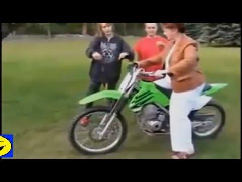Funny video Motorcycle Crash Fail