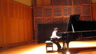 Michael Lin plays Prelude & Fugue No.12 in F minor, WTC II, BWV 881, by J.S.Bach.