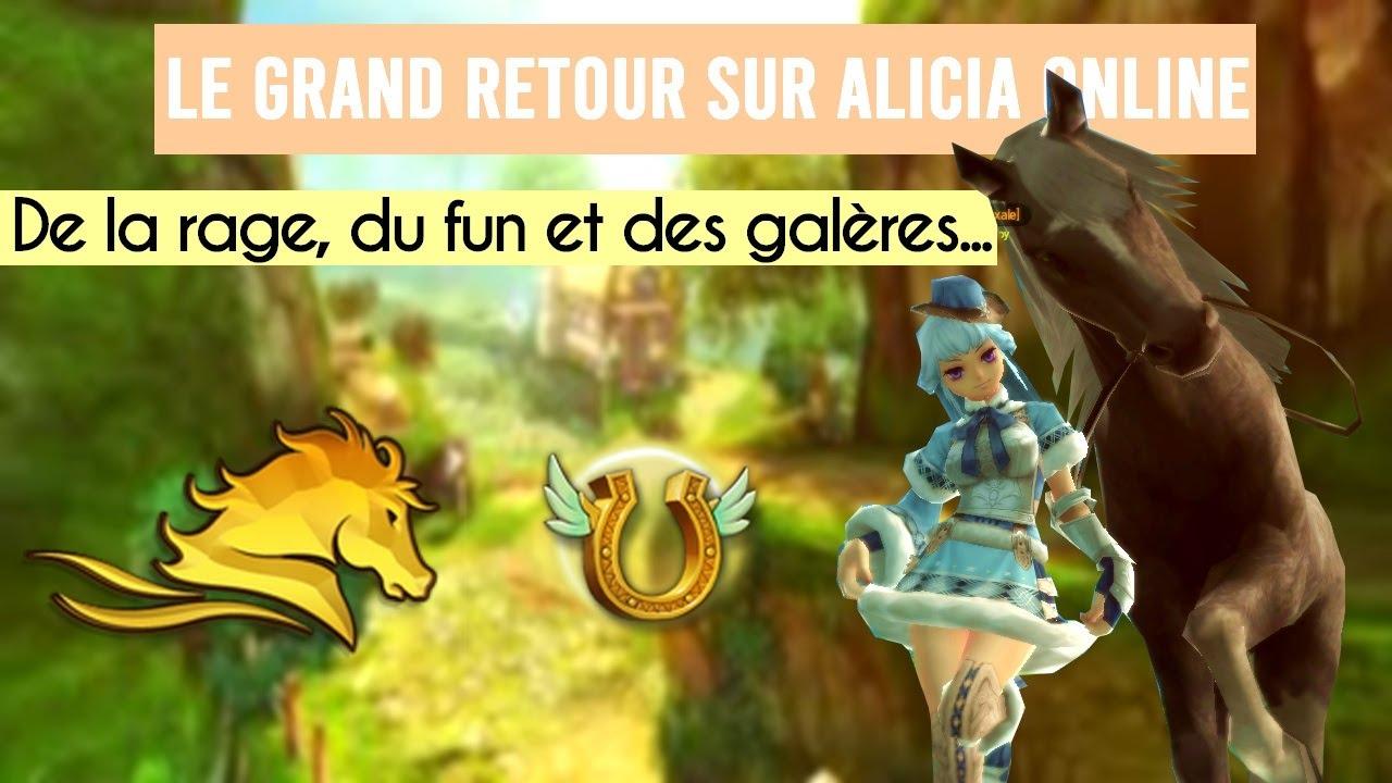 ✤ Du fun et des galères... On tente à nouveau Alicia Online ! ✤