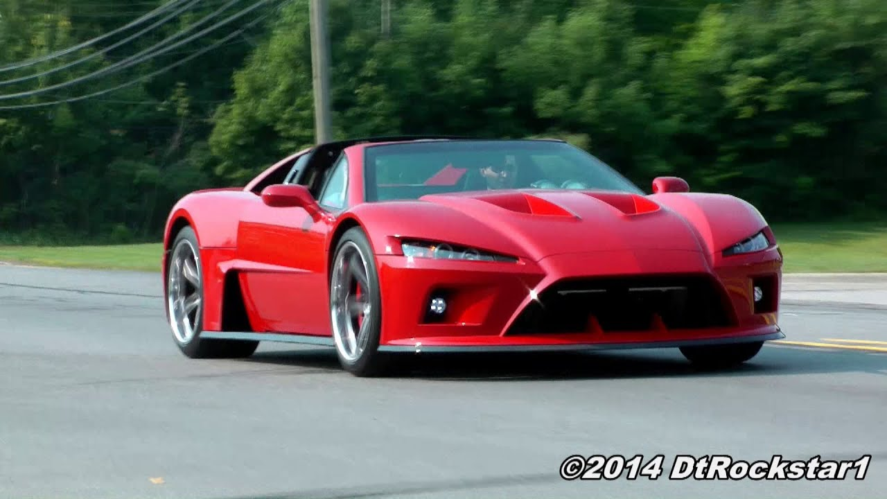 Falcon F7 X3 Supercars Accelerating Away Youtube
