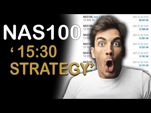 Nasdaq 15h30 strategy | NASDAQ 15:30 spike strategy | Nasdaq 100 🔥 🔥 | nasdaq trading hours