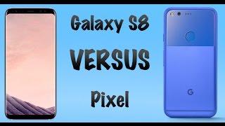 Samsung Galaxy S8 vs Google Pixel (Скорость работы) GeekStarter