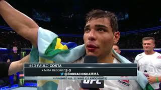UFC 226: Paulo Costa Octagon Interview