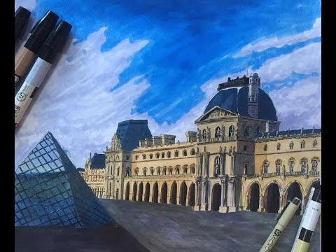Paris Eiffel Tower 3D Drawing/ Optical Illusion - Dailymotion-Video