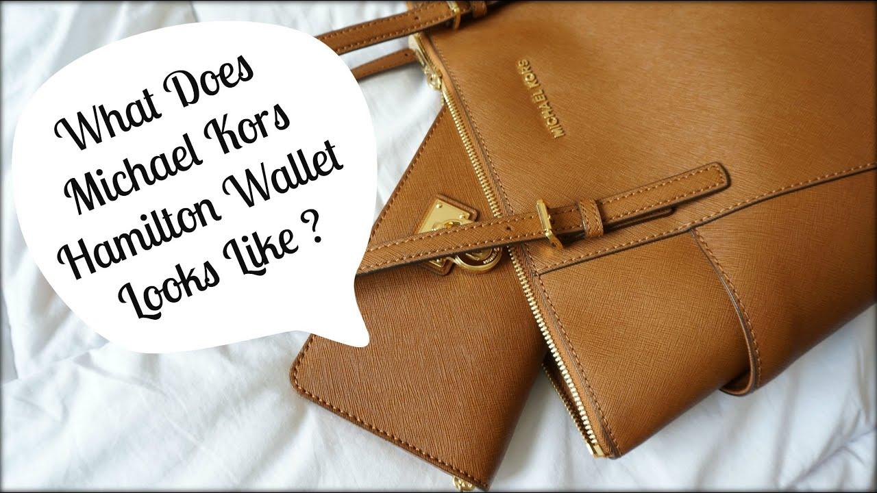 533928f156 Michael Kors Hamilton Zip Around Wallet Review (Reebonz Unboxing ...
