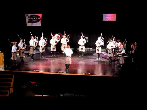 Cannongate Kirk. When Spirits Rise Concert, The New York Metro Pipe Band.