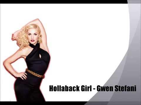 GWEN STEFANI - HOLLABACK GIRL (RADIO EDIT) LYRICS