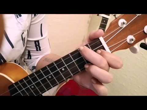 "Como tocar ""Prometiste"" Ukulele-Pepe Aguilar, Meli"