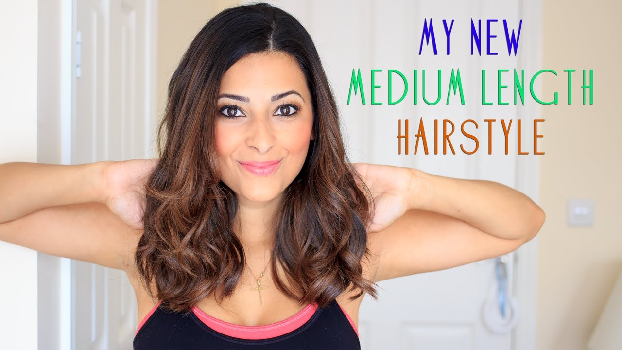 My Medium Length Hairstyle 2013/2 | Ysis Lorenna   YouTube