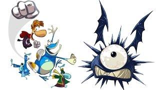 Совместное прохождение Rayman Origins 5 - Mystical Pique (Таинственный Пик)
