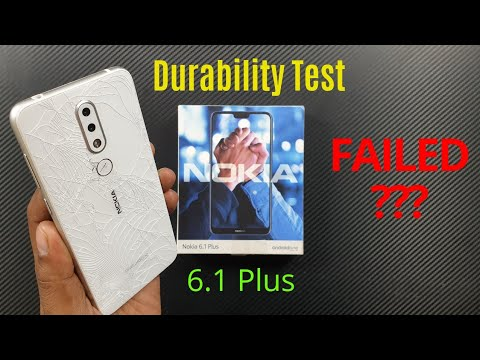 [Hindi] Nokia 6.1 Plus (7.1) Durability (DROP SCRATCH WATER BEND) Test ! Gupta Information Systems