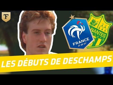 Les débuts de Didier Deschamps à Nantes (Archive)