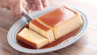 カスタードプリンの作り方 Creme Caramel / Custard pudding / Flan|HidaMari Cooking