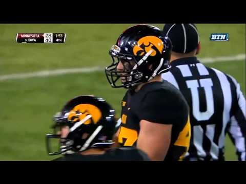 Iowa Hawkeyes get Kinnick Stadium Roaring!