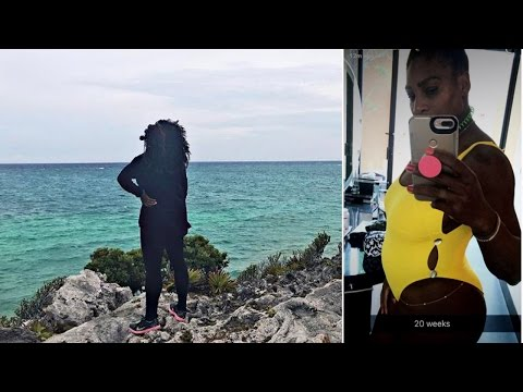 After Pregnancy Announcement Serena Williams Has Romantic Babymoon In Mexico