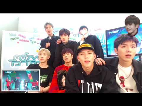 [ENGSUB] MONSTA X - READY OR NOT/BEAUTIFUL STAGE REACTION 20170325