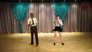 AJW 2015 - Lindy Hop Performance - Remy & Ramona