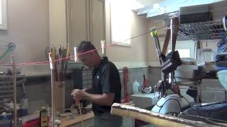 Making Wooden Arrows