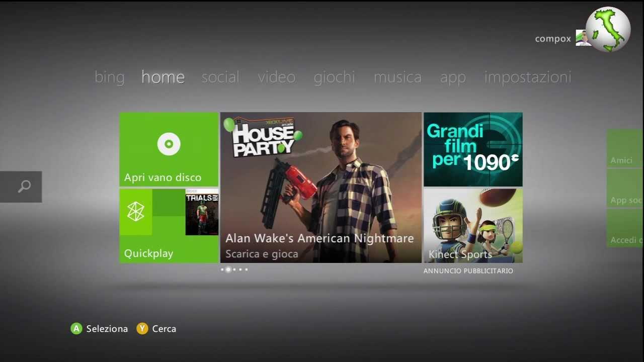 Come posso registrarmi a Xbox-Live? - Bagno90.com
